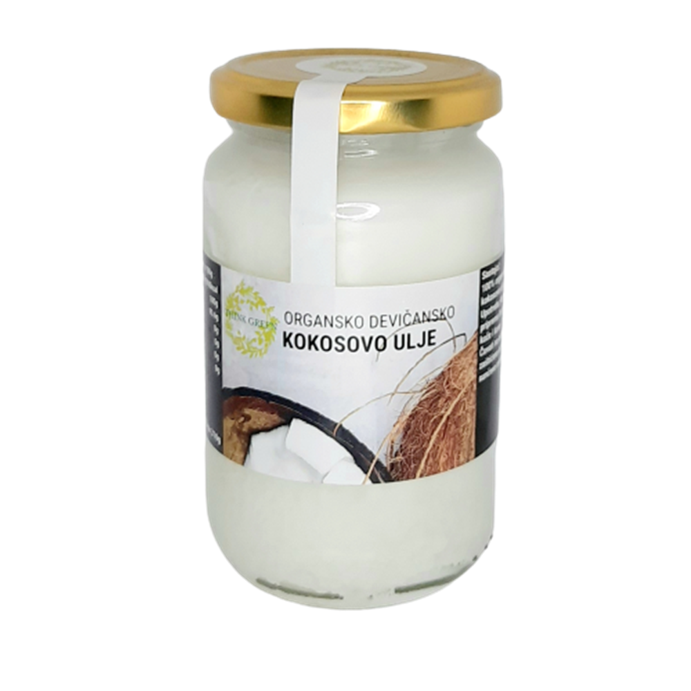 Kokosovo ulje 310 gr organic THG