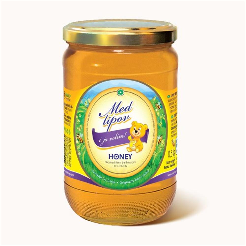 Med lipov honey 0,5 kg