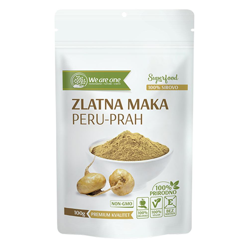 Zlatna peruanska maka 100 gr