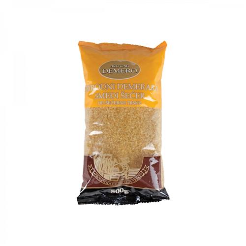 Smeđi šećer od šećerne trske  500 gr