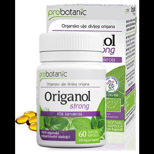 Origanol strong - organsko ulje divljeg origana u softgel kapsulama