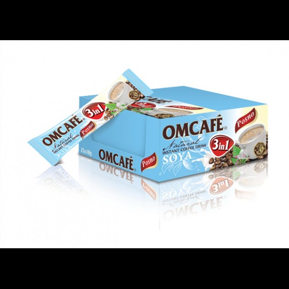 Posna kafa sa mlekom i šećerom 3u1 Omcafe