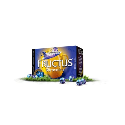 Borovnica Fructus exclusive 44 gr