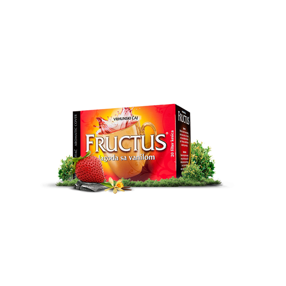 Jagoda sa vanilom Fructus 44 gr