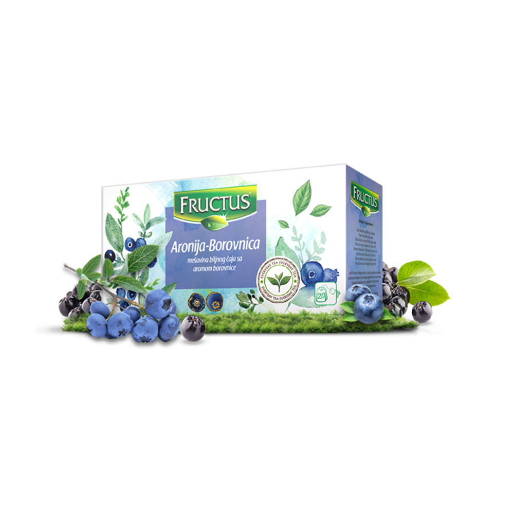 Čaj aronija Fructus 50 gr