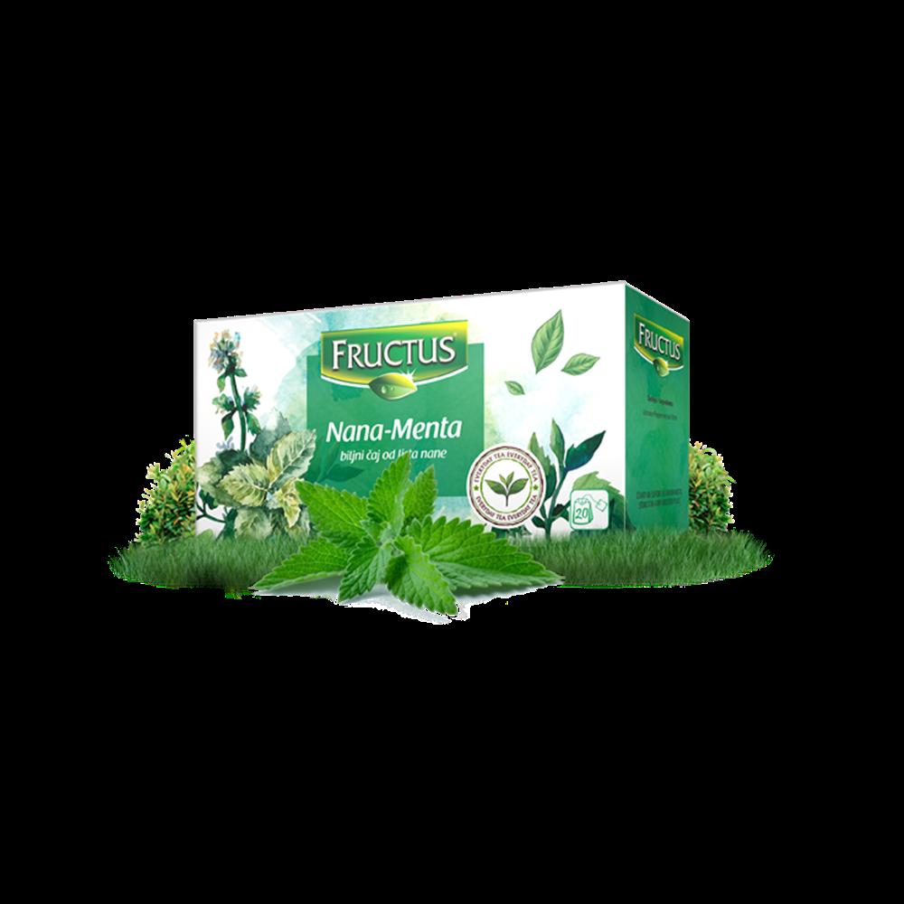 Čaj nana Fructus 20 gr