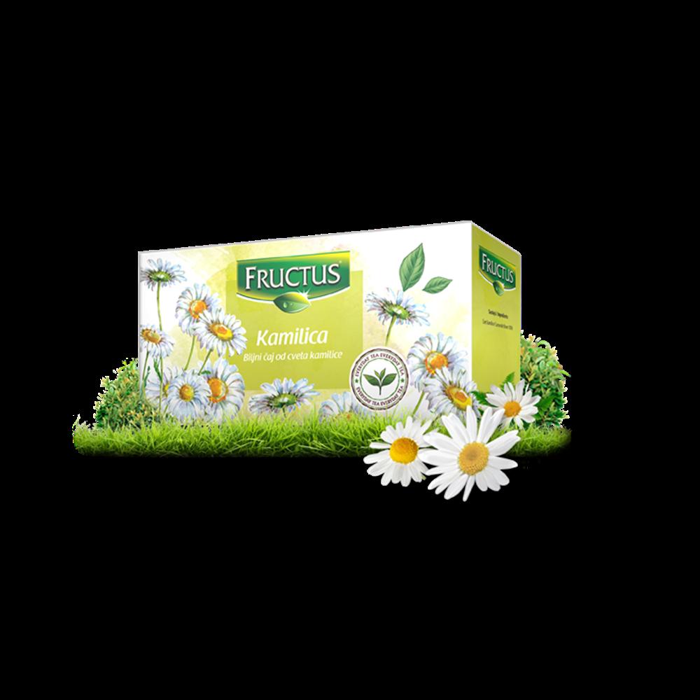 Čaj kamilica Fructus 20 gr