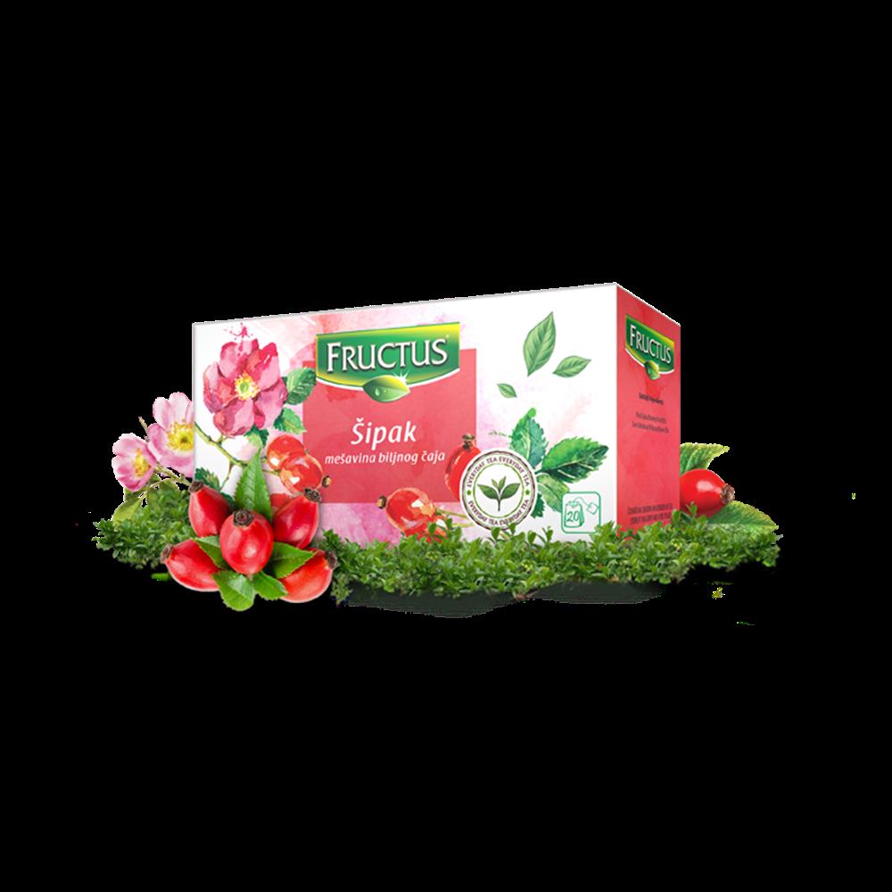 Čaj šipak Fructus 40 gr