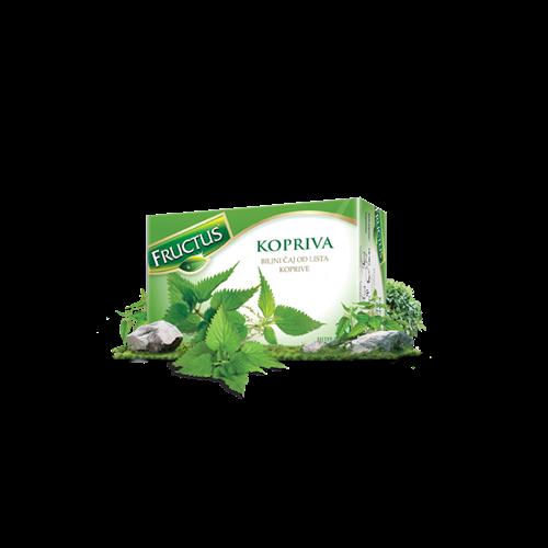 Čaj kopriva Fructus 15 gr