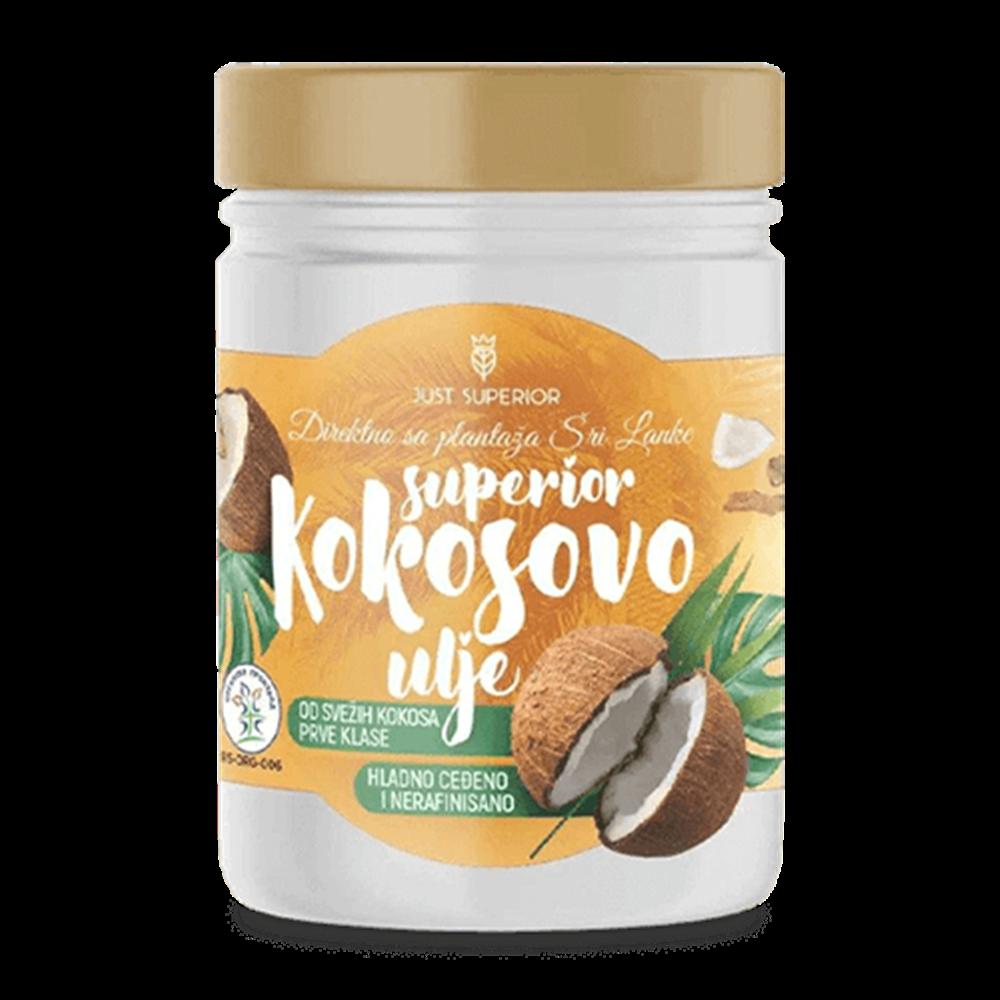 Kokosovo ulje Superior 300 gr organsko