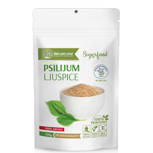 Psilijum ljuspice organic 100 gr