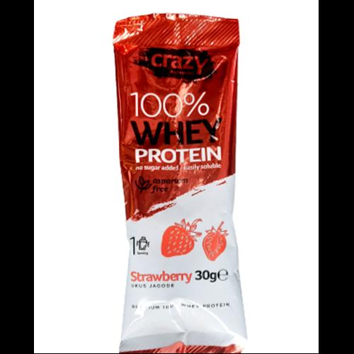 Whey protein sa ukusom jagode 30 gr