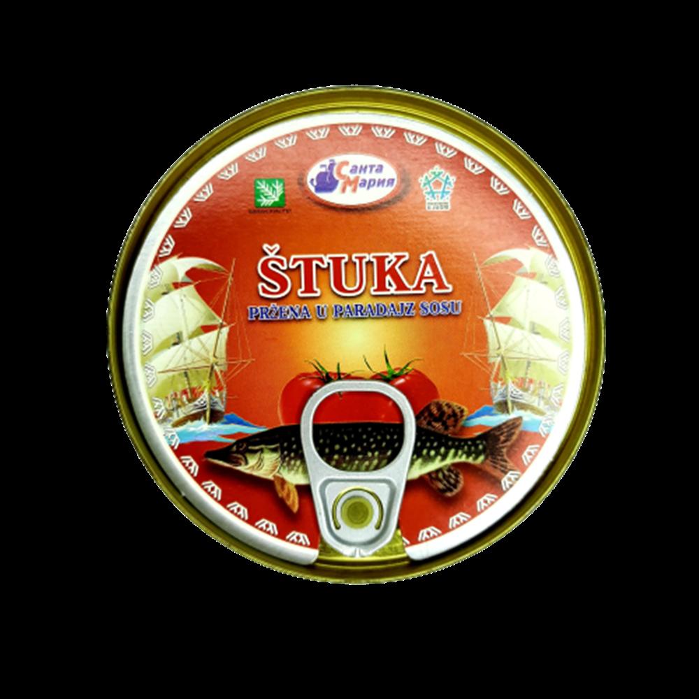 Štuka u paradajz sosu 230 gr