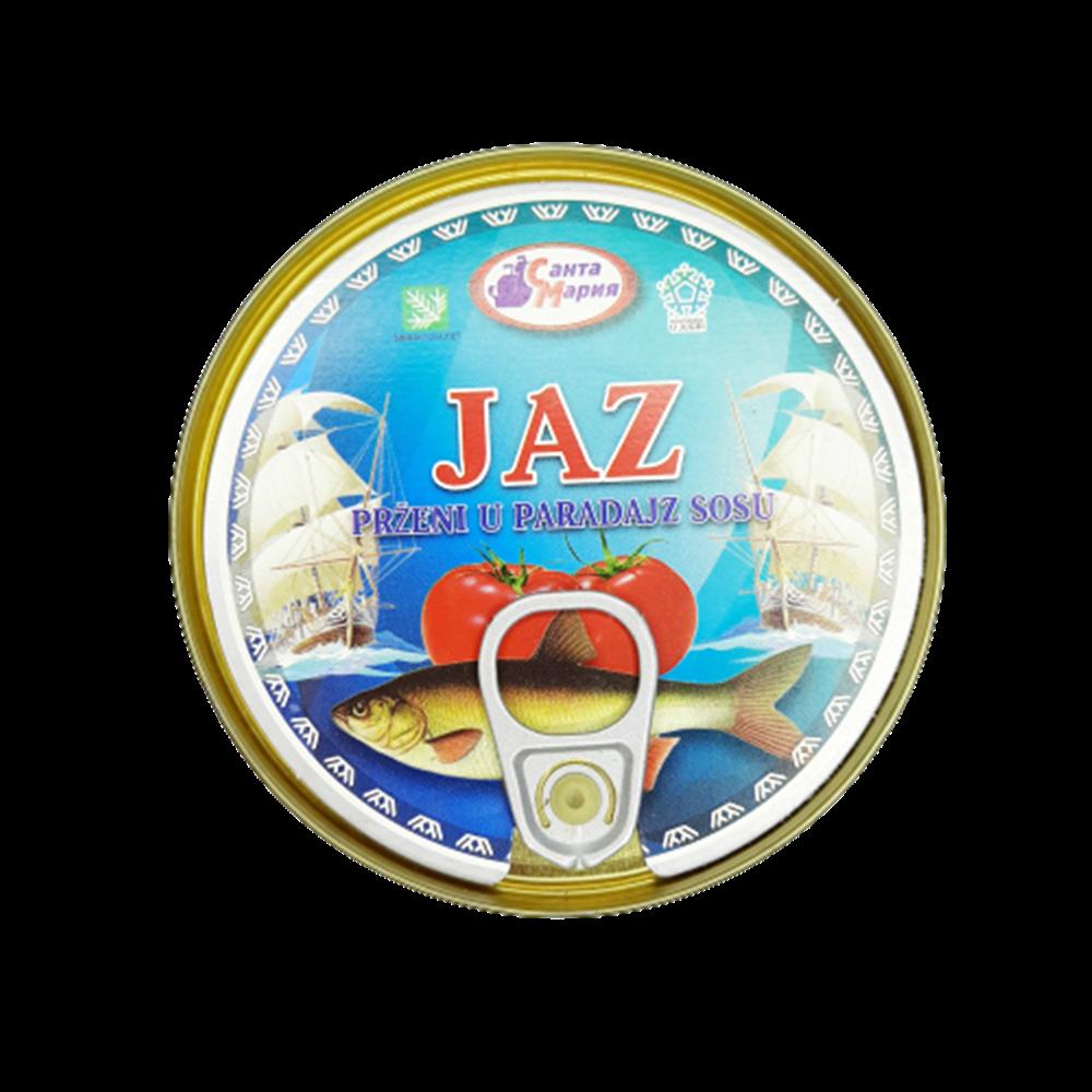 Jaz prženi u paradajz sosu 230 gr