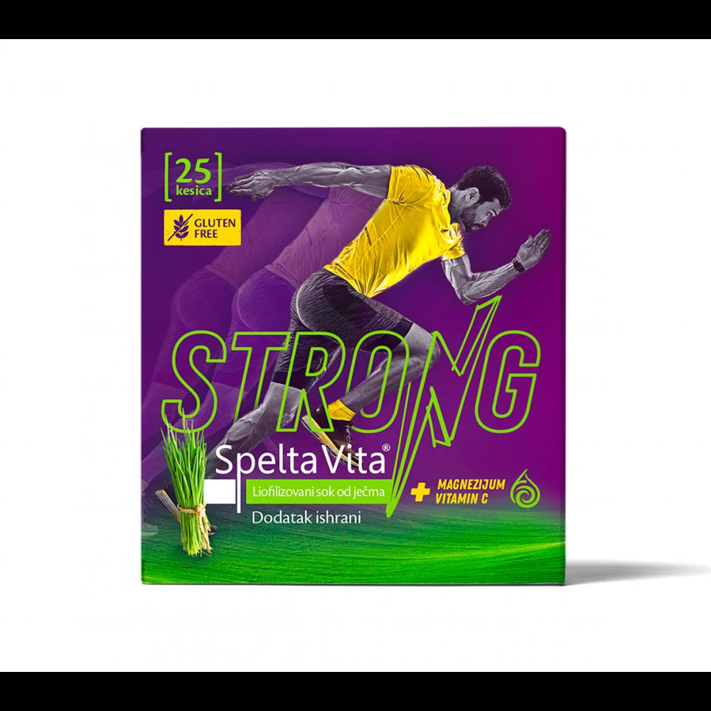 Spelta Vita Strong - liofilizovani sok od ječma sa dodatkom Mg i vitamina C