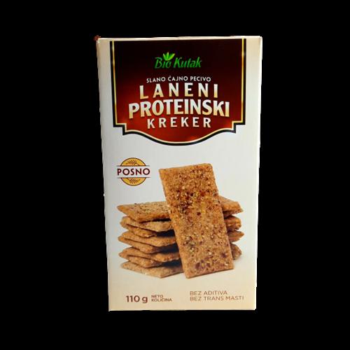 Laneni proteinski kreker 110 gr