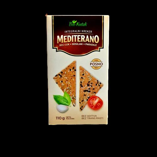 Integralni kreker Mediterano 110 gr
