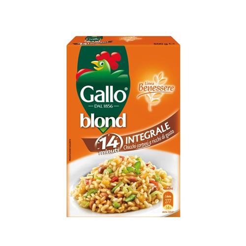 Pirinač Riso Gallo Integrale 500 gr