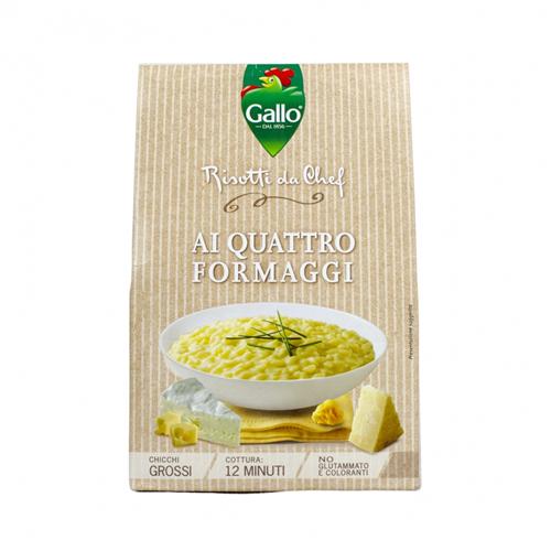 Italijanski rižoto sa 4 vrste sira 175 gr