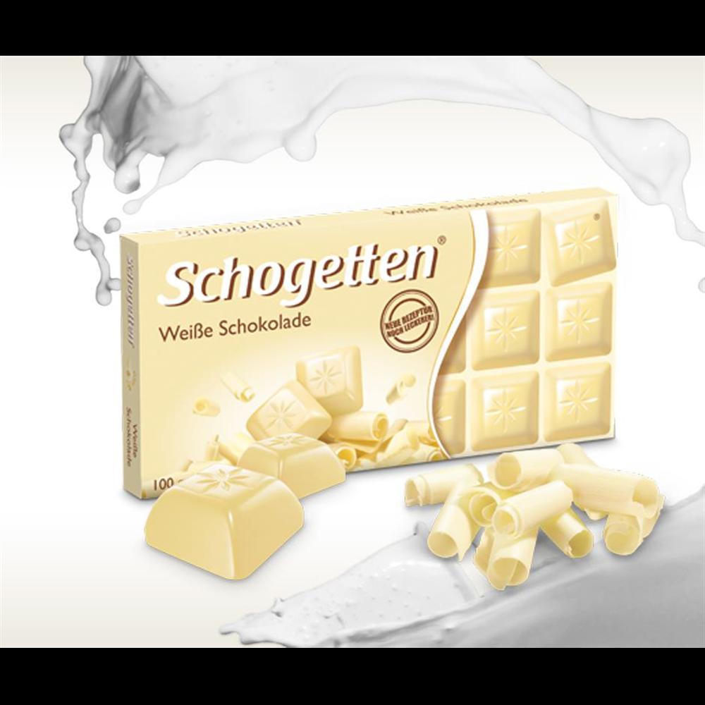 Čokolada bela Schogetten 100 gr