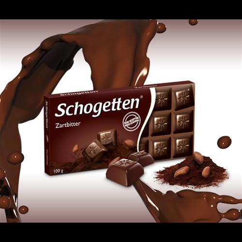 Crna čokolada Schogetten 100 gr