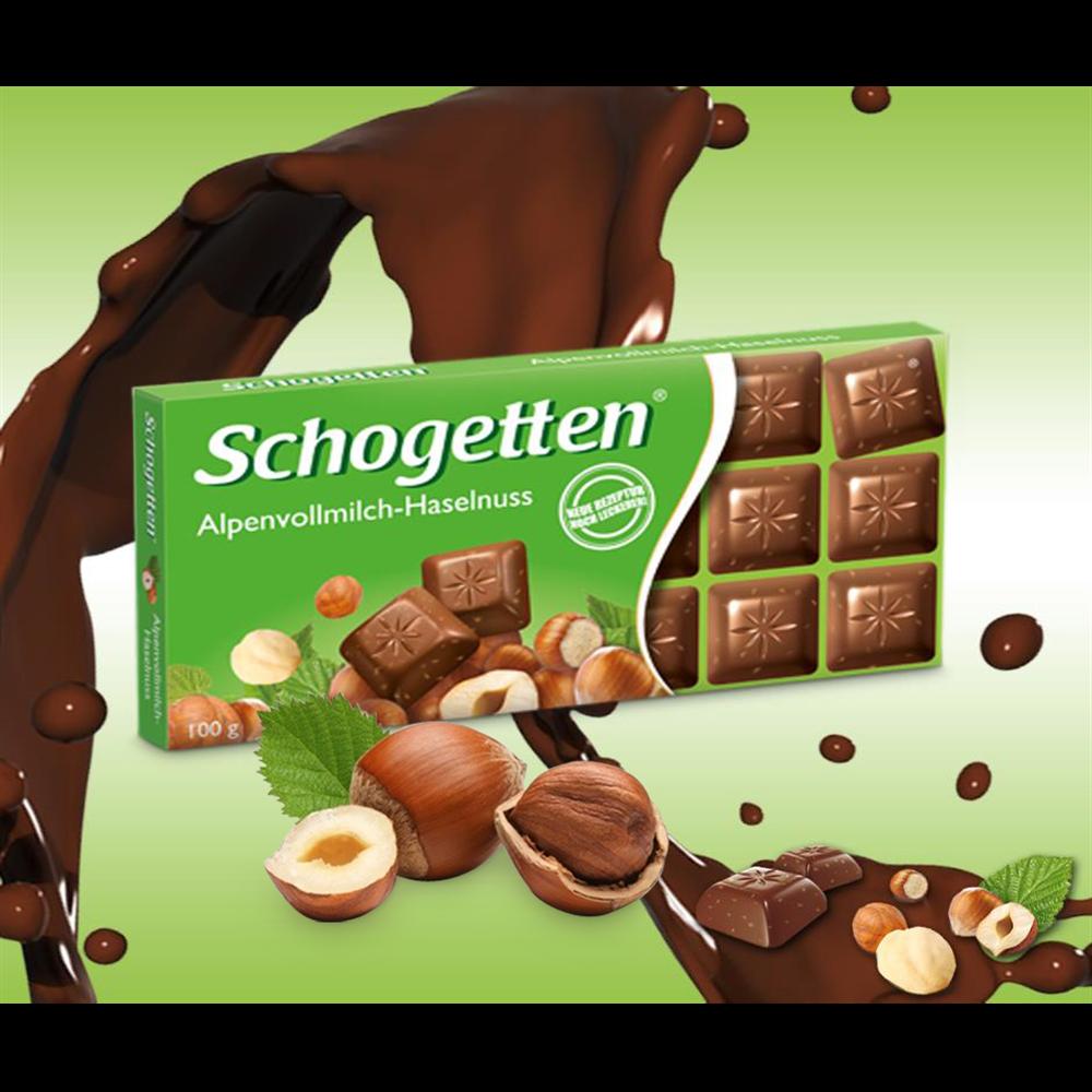 Čokolada sa lešnikom Schogetten 100 gr