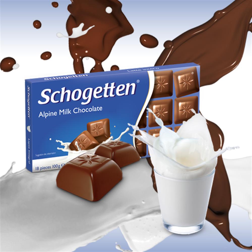 Mlečna čokolada Schogetten 100 gr
