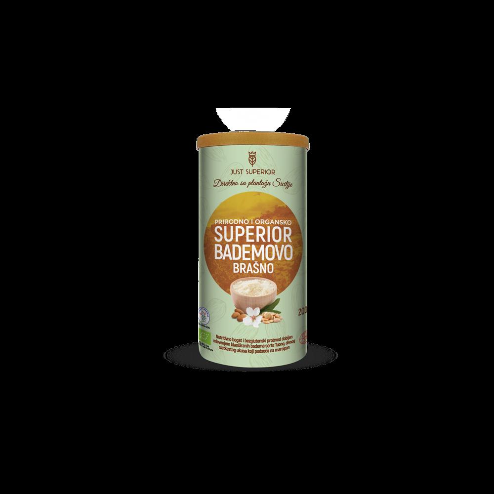 Bademovo brašno Just Superior 200 gr