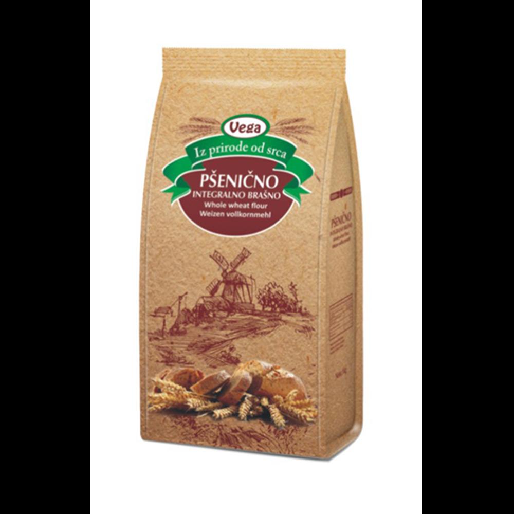 Brašno pšenično integralno Vega 1 kg