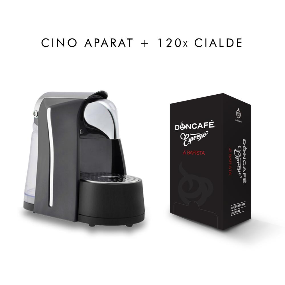 Cino espresso aparat + 120 ćaldi