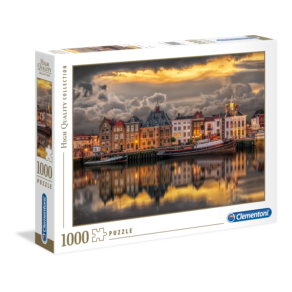 Puzzle CLEMENTONI Dutch Dreamworld 1000 delova