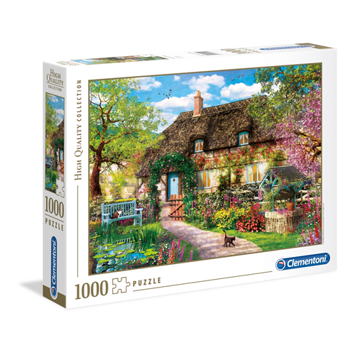 Puzzle CLEMENTONI The Old Cottage 1000 delova