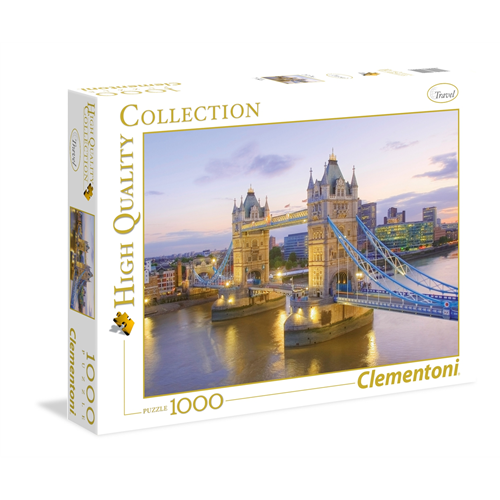 Puzzle CLEMENTONI Tower Bridge 1000 delova