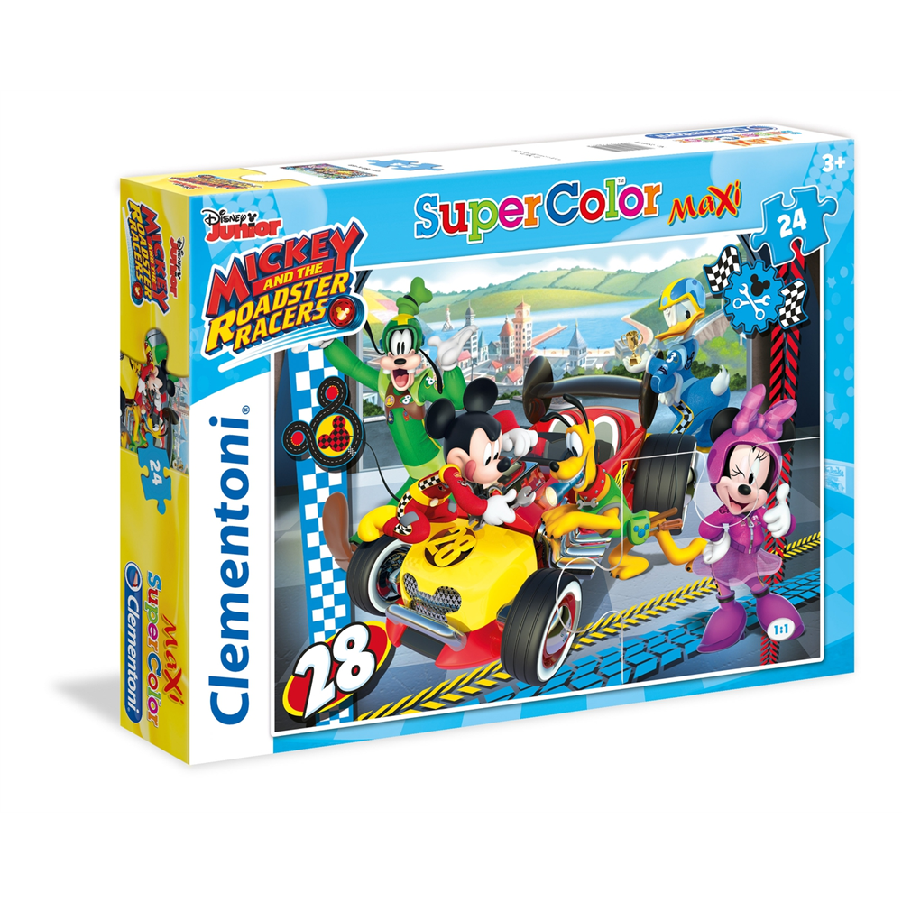 Puzzle CLEMENTONI EMickey and The Roadster Racers 24 dela