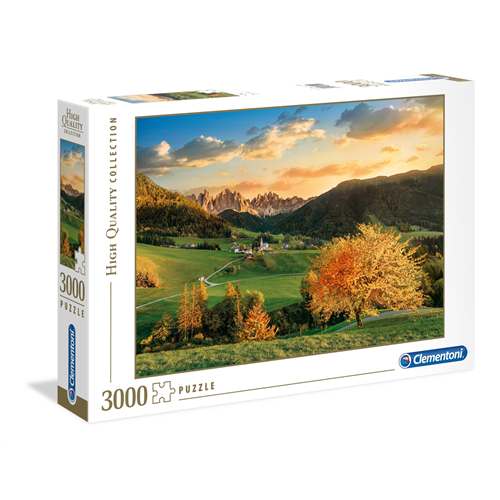 Puzzle CLEMENTONI The Alps 3000 delova