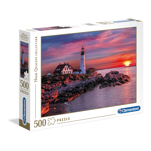 Puzzle CLEMENTONI Portland Head Light 500 delova