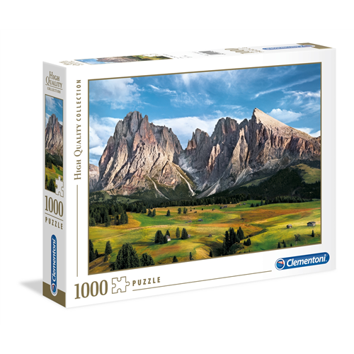 Puzzle CLEMENTONI The Coronation of the Alps 1000 delova