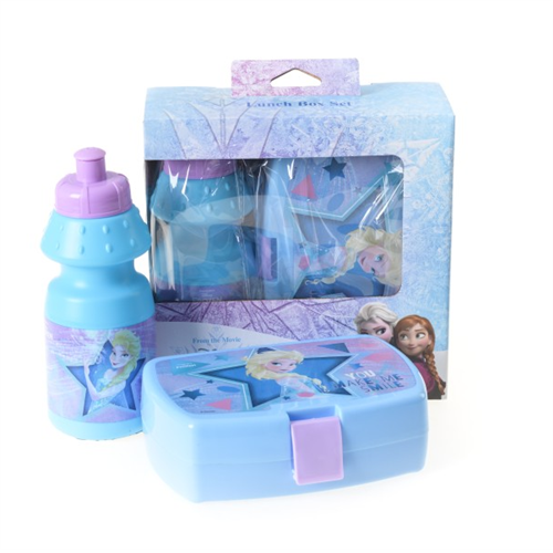 Lunch box kutija za užinu i flašica - Frozen set