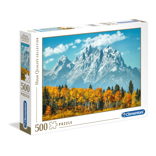 Puzzle CLEMENTONI Grand Teton in fall 500 delova
