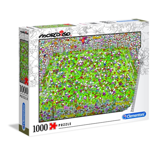 Puzzle CLEMENTONI Mordillo The Match 1000 delova