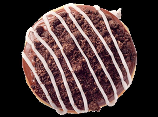 Sa čokoladnom glazurom punjena Oreo keksom