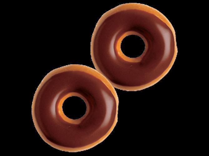 Mini sa čokoladnom glazurom