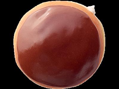 Sa čokoladnom glazurom punjena kremom od vanile