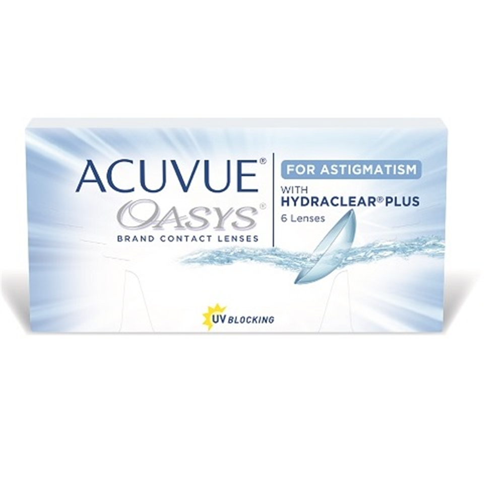 Johnson Johnson Acuvue Oasys for astigmatism 6 kom