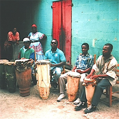 Drummers of The Societe Absolument Guinin