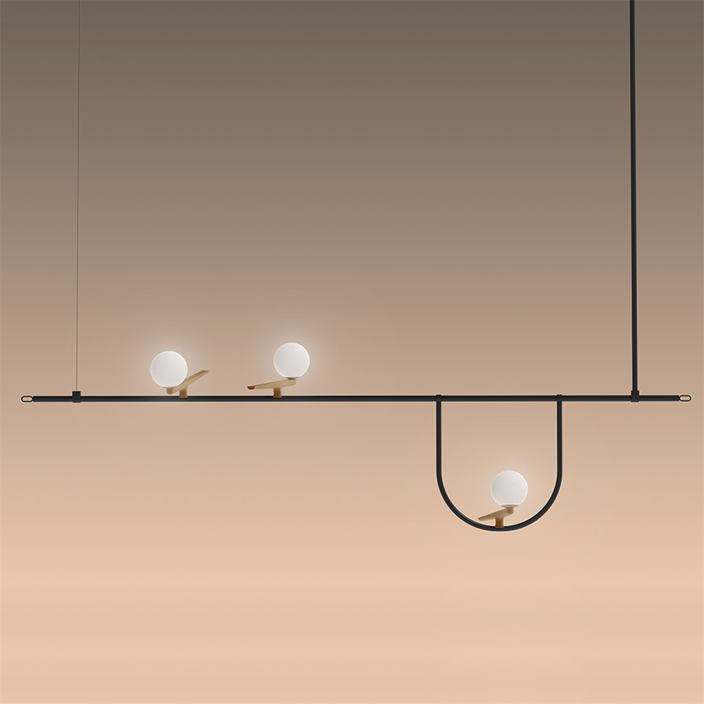 YANZI SUSPENSION 1 - Viseća dekorativna svetiljka