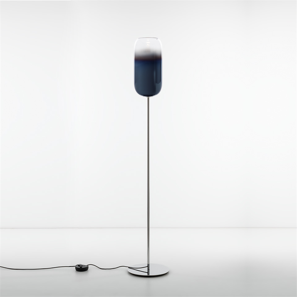 GOPLE FLOOR BLUE - podna dekorativna svetiljka