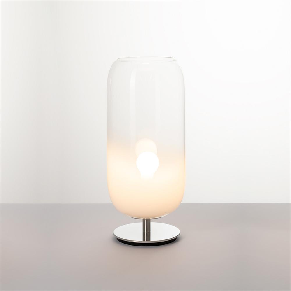 GOPLE TABLE WHITE - stona dekorativna svetiljka