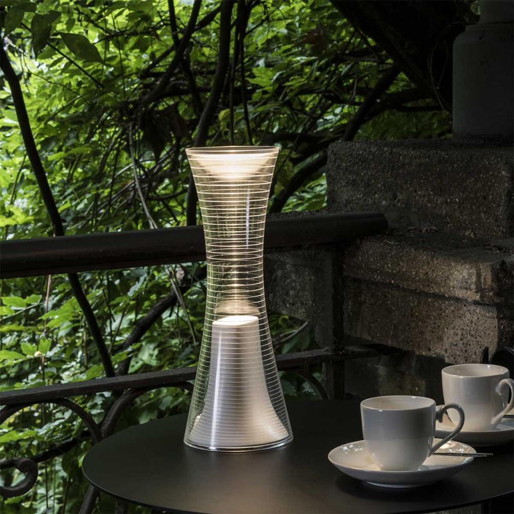 COME TOGETHER WHITE  - stona dekorativna baterijska svetiljka