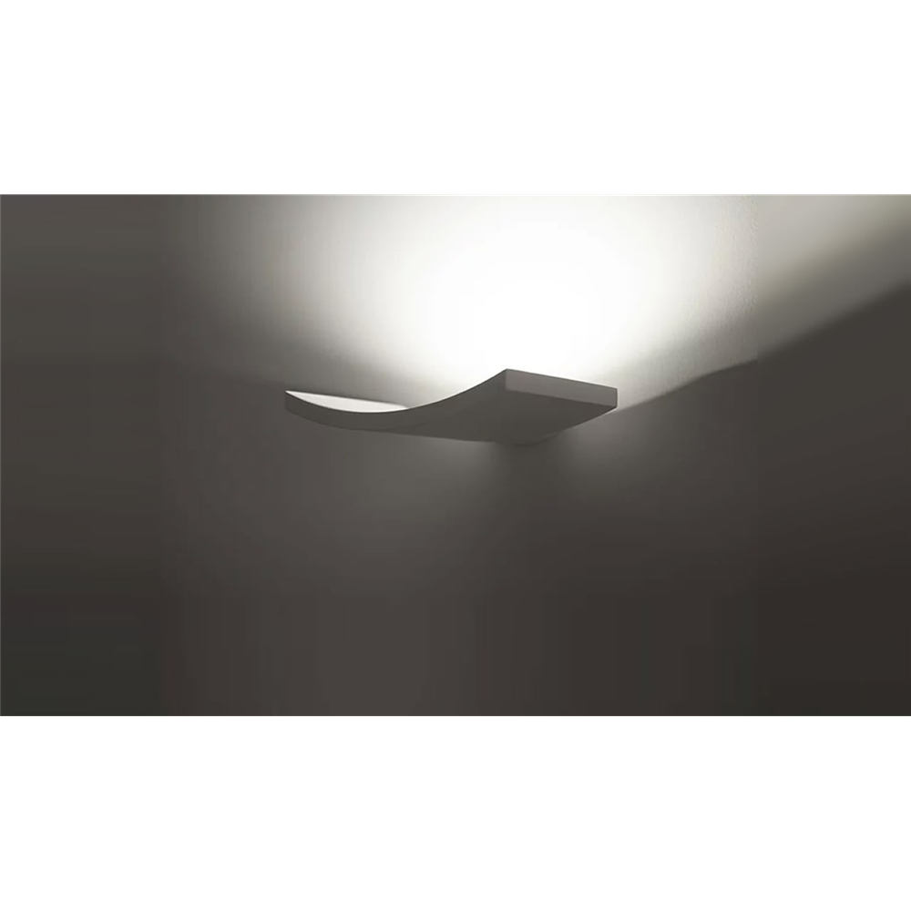 MICROSURF WHITE  - zidna dekorativna svetiljka